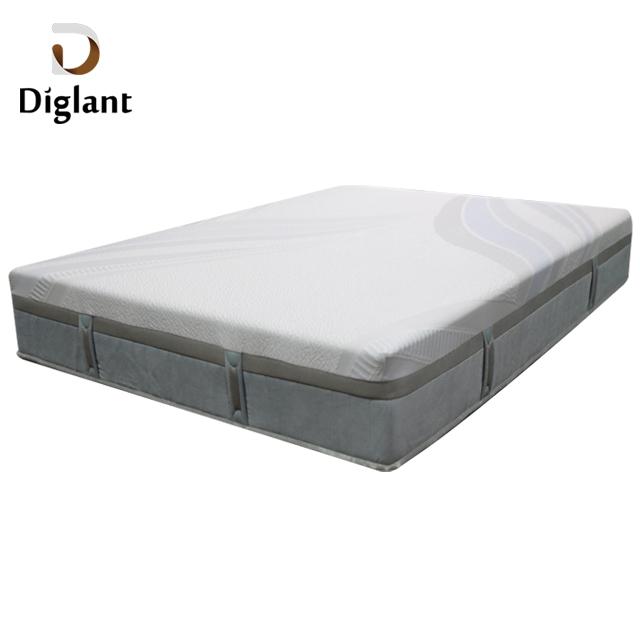 DM23 Diglant Latest Double Fabric Foldable King Size Gel Memory Natural Latex Single Bed Pocket memory foam mattress - Jozy Mattress   Jozy.net