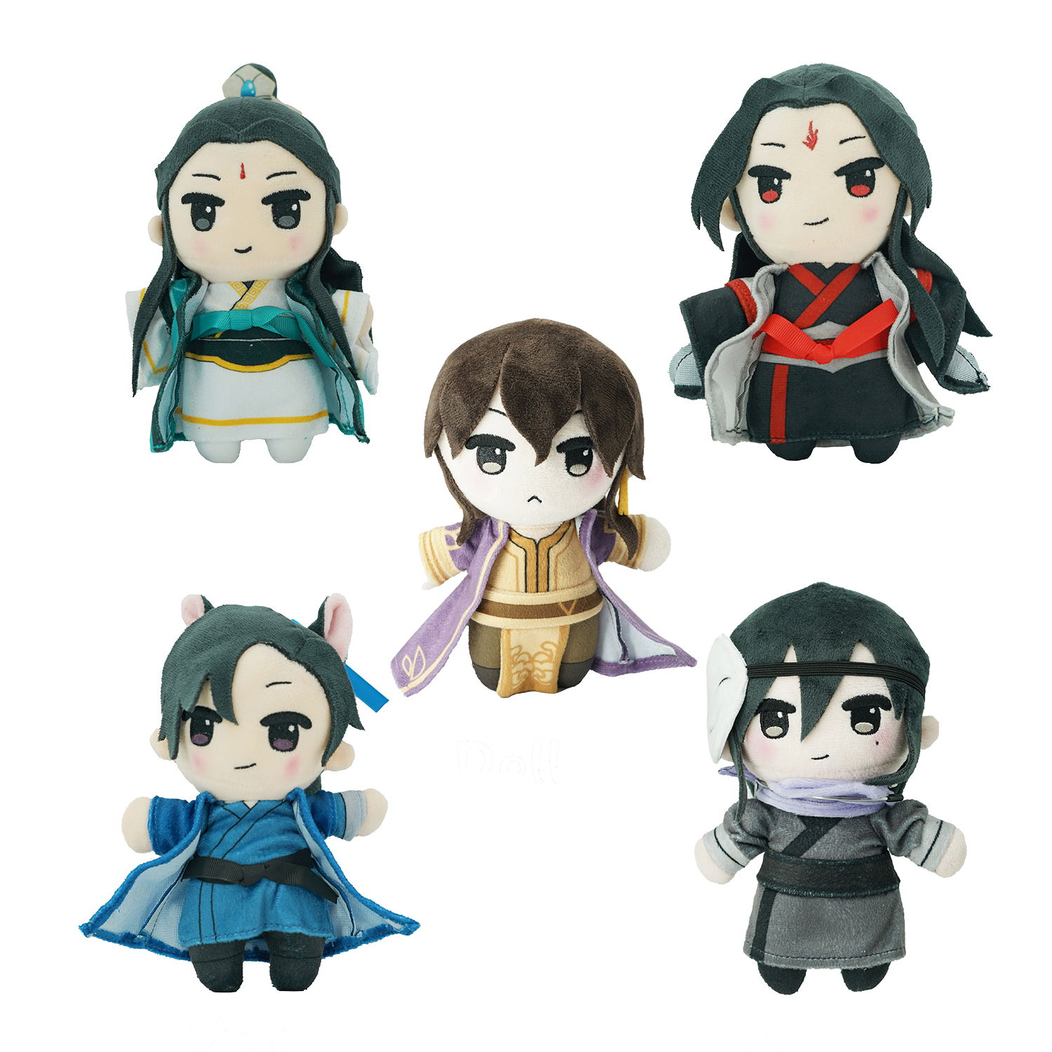 Custom Group Stuffed Toys Make <strong>Plush</strong> Star Dolls Of Your Design Custom Game Film Movie Anime For Aficionado and Big Fan