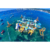 Giant amusement park games water inflatable floating water games park equipment