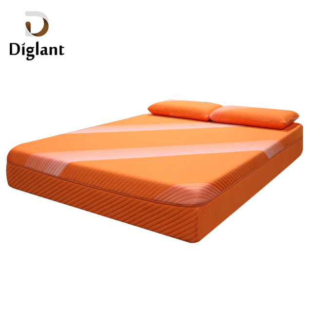 DM27 Diglant Latest Double Fabric Foldable King Size Gel Natural Latex Single Bed queen Memory mattress - Jozy Mattress | Jozy.net