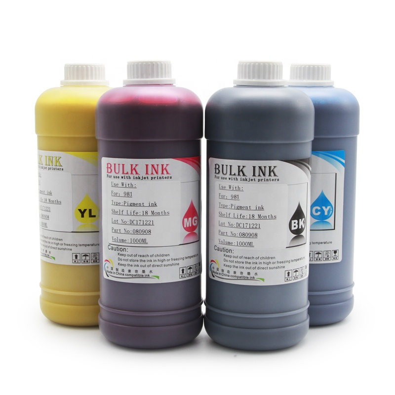 Ocinkjet For HP 981 981XL 981Y Pigment Ink For HP Enterprise 556xh/dn MFP 586dn/f/<strong>z</strong> MFP E58650dn(NA) MFP E55650(AP)