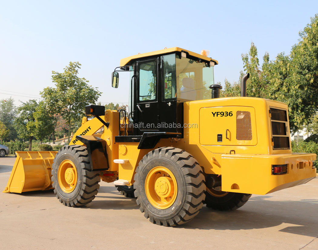 Front End Loader YF936 Chinese Wheel Loader 3t for Construction