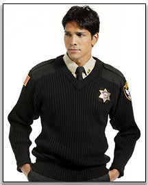 Wholesale Spring and Autumn Khaki and Black Security Uniform Shirt for Men