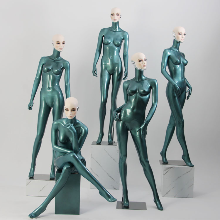 Abstract model female mannequin