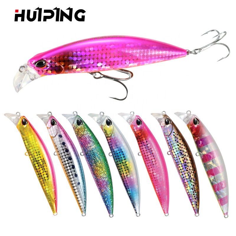 Lures Fishing Wholesale 95mm 30g Heavy Sinking Minnow Lure Hard Bait Beach Walker Pesca Bass Fishing M30