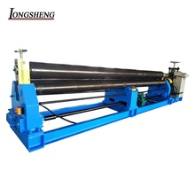 high quality <strong>W11</strong>-4X4000 electrical three roll small thin plate <strong>rolling</strong> bending <strong>machine</strong> for stainless <strong>steel</strong>