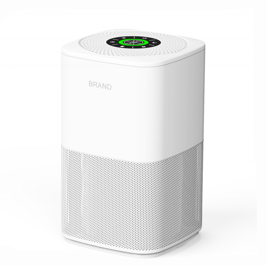 Customized White Air Purifier CADR 110m3/<strong>h</strong> Purifying PM2.5 Cleaning Air Purifier Smart Home Best Quality