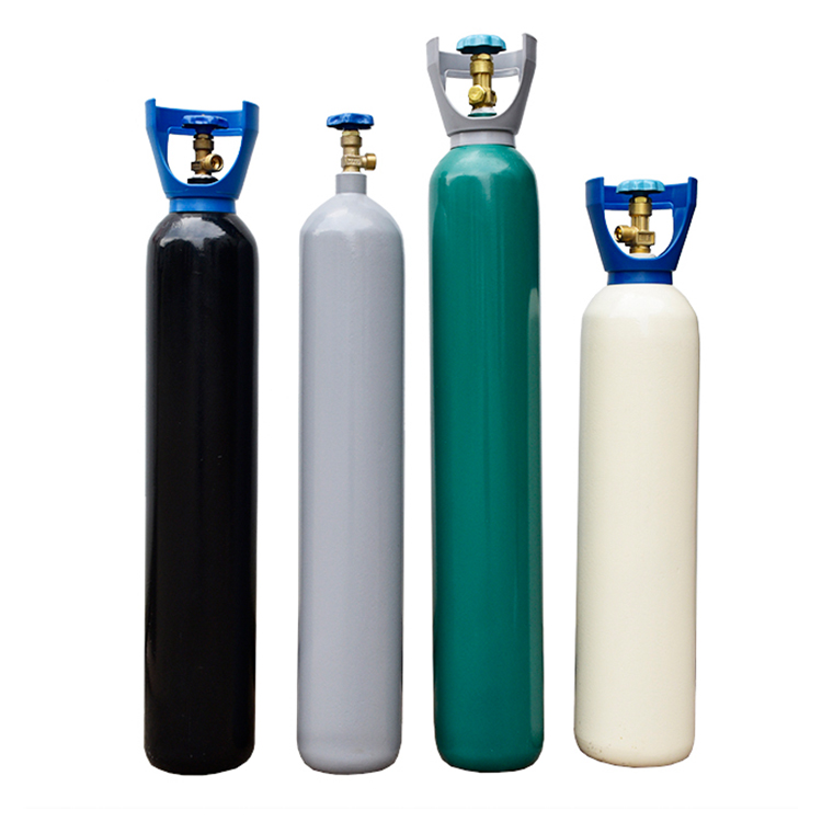 Seamless Steel Argon Nitrogen Oxygen CO2 N2O Gas <strong>Cylinder</strong> Price