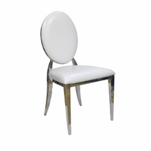 modern metal stainless steel banquet event chivari dining chairs <strong>furniture</strong> for wedding