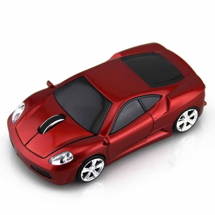 Promotional Gift Car Wireless Mouse ,Novelty Gift Racing Car Shaped Computer Mouse Wireless