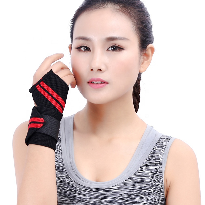 Hot Sell Amazon Lifting Wrist Straps <strong>Custom</strong> Wrist Wraps For Fitness