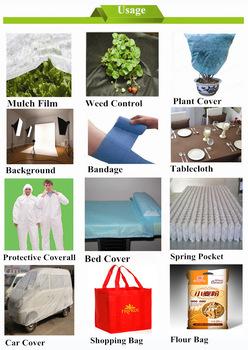 pp waterproof nonwoven fabric rolls  from Laizhou Jiahong Plastic