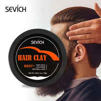 Private label mens hair products clay hair gel for fine hair