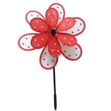 Colorful bee cartoon kids toy windmill