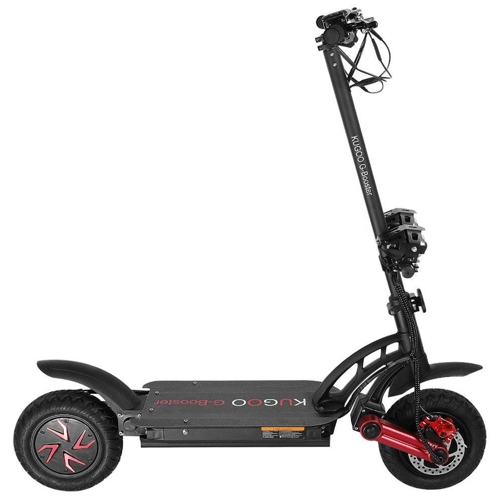 eu free shipping 48v 23ah <strong>battery</strong> 85km range 10 inch big tire large two wheel 200kg load fast folding off-road electric scooter