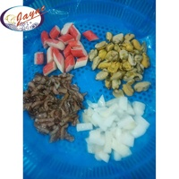 Direct sales reasonable price quality raw mix frozen sea food mix