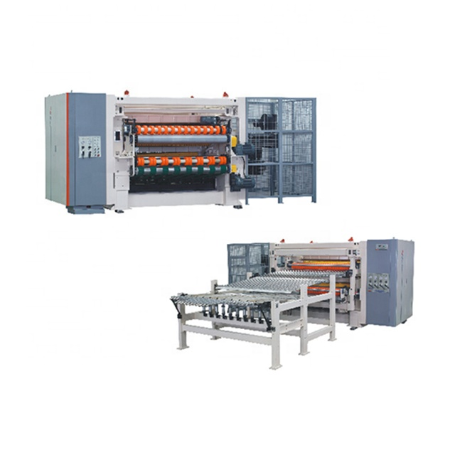 Corrugation Line N.C Helical Cross Cutter for Corrugated Cartons
