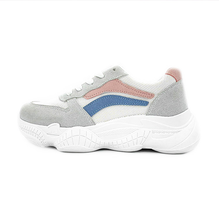 Fashionable Outdoor Sport Walking Ladies Shoes Women Sneakers Shoes ,gray ladies shoes sport