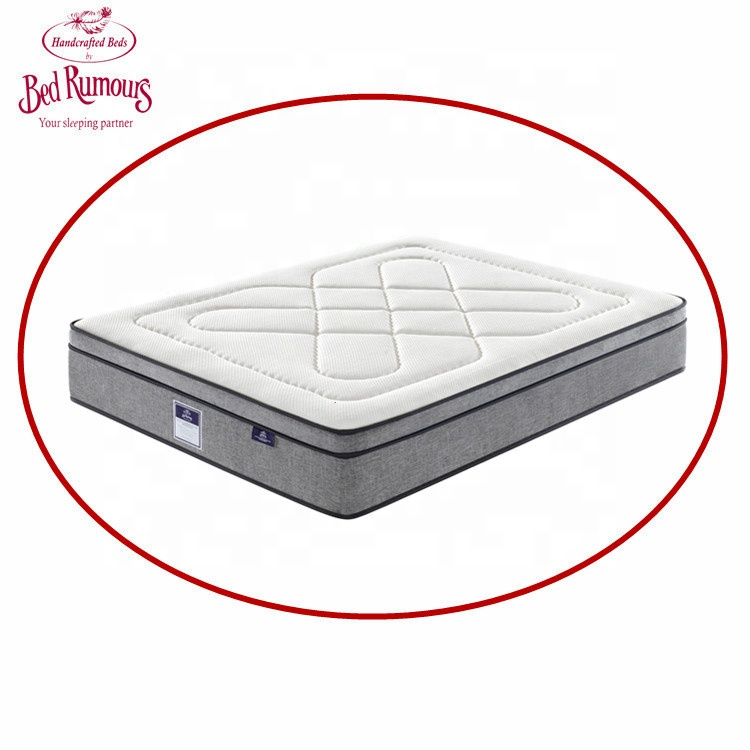 Deluxe Style Quality Assured Single Side Hotel Bed Set Furniture Latex Spring Mattress ZH11 - Jozy Mattress | Jozy.net
