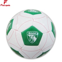 NON Phthalate promotion soccer ball size 5 1 custom big brands logo EU standard balls with BSCI factory