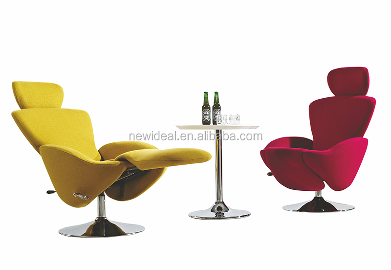 Contemporary chaise lounge furniture reclining chair (NH2596-1)