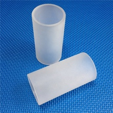 HM High Quality Frosted Milky White Borosilicate Glass Tubes