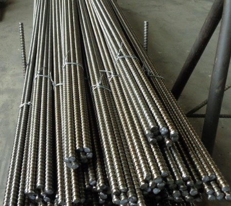 Formwork tie rod with <strong>D15</strong> thread Cold rolled rebar