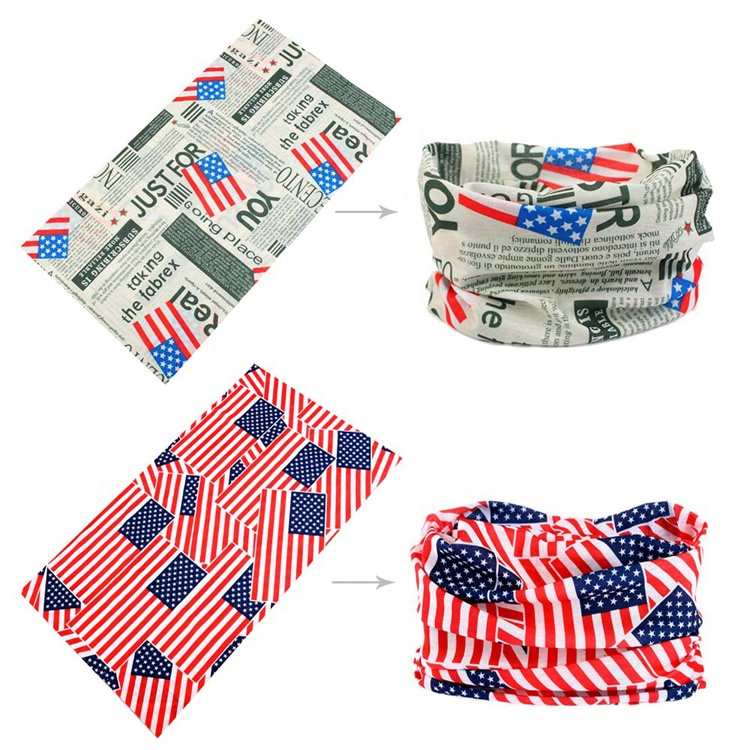 Best Seller Scarf Bandanas Neck Gaiter Multi-purpose Face Cover For Outdoors Sports