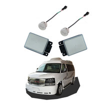 Blind spot detection system 24GHz kit bsd mircowave millimeter auto car bus truck vehicle parts accessories for GMC Savana