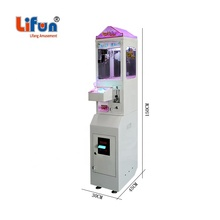 J01 Factory Wholesale Coin Operated Candy Arcade Game Cheap Mini Claw Machine For Malaysia, Small Toy Claw Crane Machine