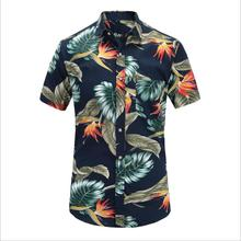 Hot Selling Summer <strong>Men's</strong> Hawaii <strong>Shirts</strong> Short Sleeve Floral Printed Casual <strong>Shirts</strong> For Men