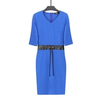 Fashionable Style Office Pencil Bodycon Dress Pictures Office Dress For Women