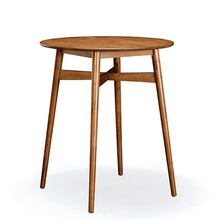 Vintage Wood Bar Table Kitchen Wooden Modern Barstool