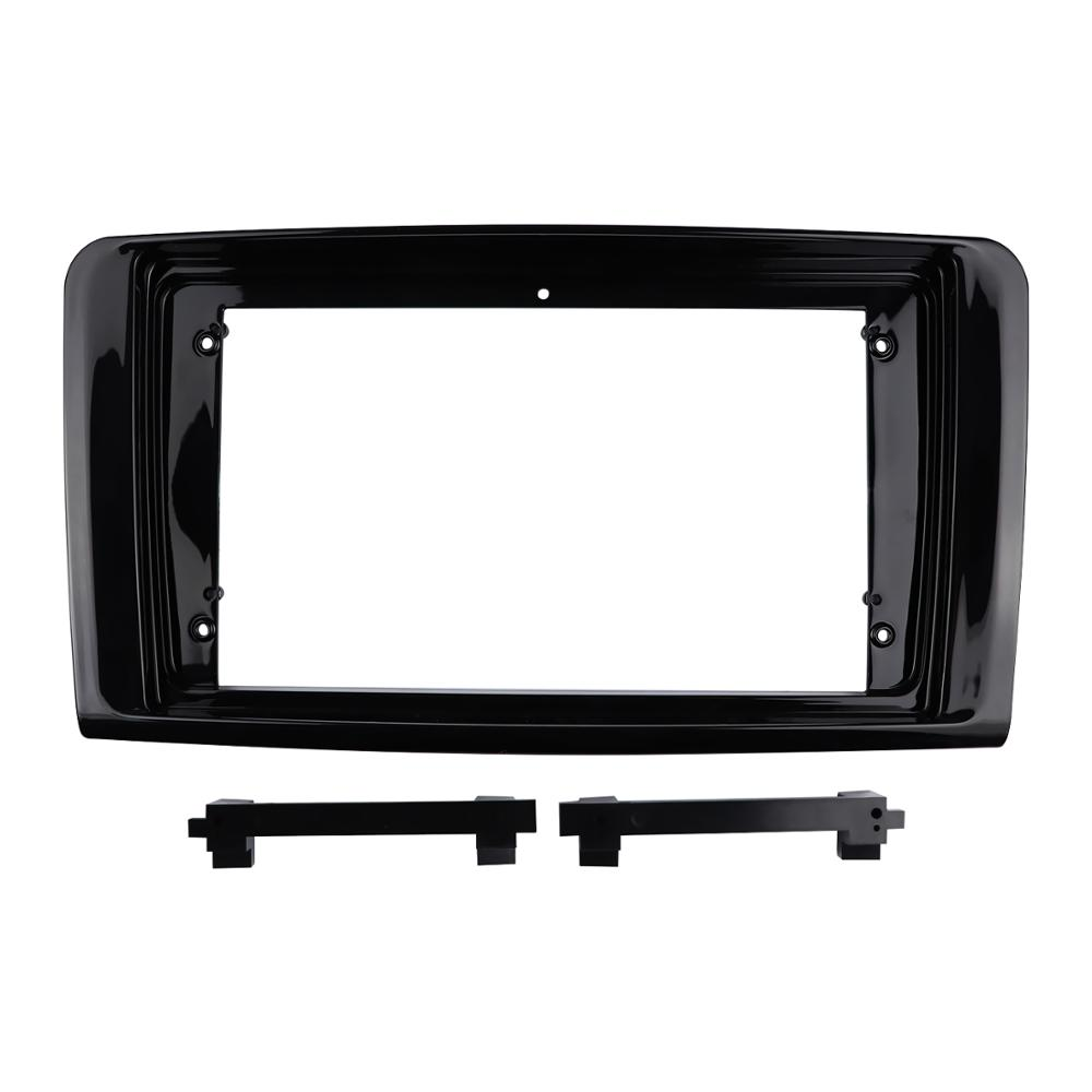 9 Inch for 2006-2010 BENZ ML (<strong>W164</strong>) (UV BLACK) Radio Stereo Installation Refit Mounting Dash Kit Panel Frame