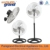 3 In 118 inch 3 speed settings industrial electric deluxe pedestal stand charging fan with spare parts