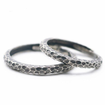 S925 sterling silver snake skin ring jewelry wholesale personality women and men couple retro opening ring