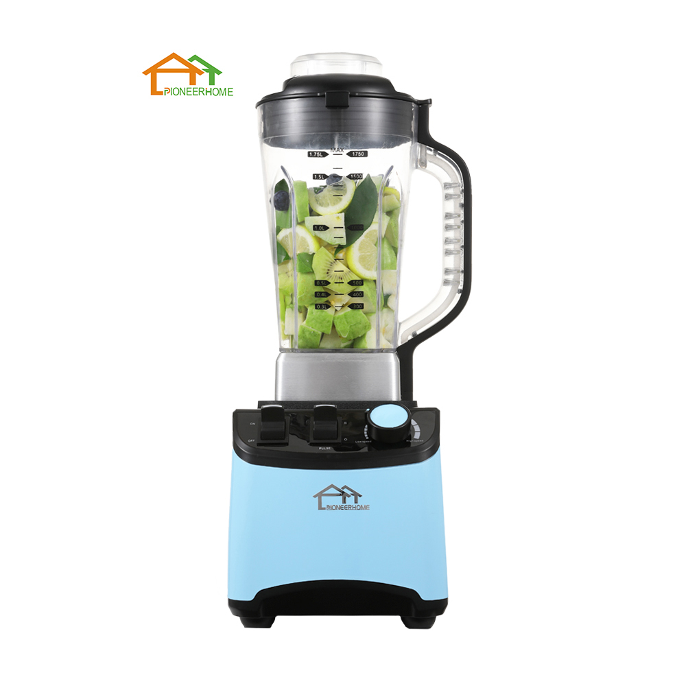 2020 Newly Design 1500W 1.75/2L High Speed Vaccuum Mechanical Smoothie Blender