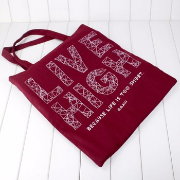 Cotton Canvas Tote Bags Reusable Totes for Shopping