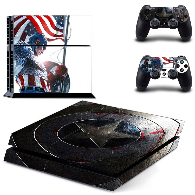 For Playstation 4 PS4 Cover Skin Decal Vinyl Button Sticker Console Controller
