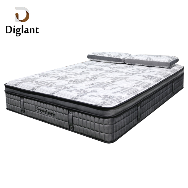 DM34 Diglant Latest Double Foldable King Size Gel Single Bed Memory Natural Latex queen Fabric mattress - Jozy Mattress | Jozy.net