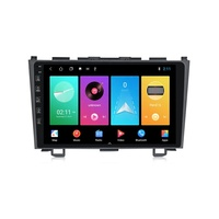 M Series PX6 Android 10.0 IPS+2.5D+DSP+4G LTE+CarPlay Car Navigation Player For Honda CRV 2006-2011 with RDS Radio 9'' no dvd