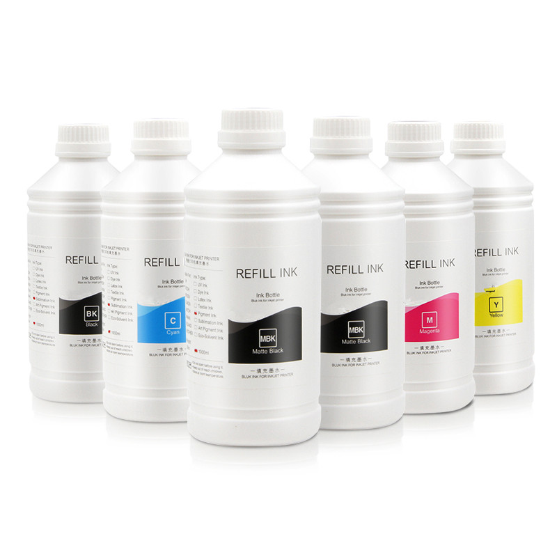 Supercolor 1000ML/Bottle Universal Pigment Ink PFI <strong>120</strong> For Canon TM-200 205 300 305 Printer