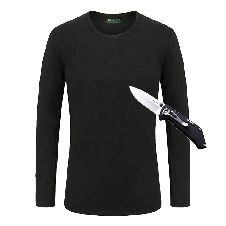 High Quality Industrial <strong>Safety</strong> Men Long Sleeve T shirt <strong>Safety</strong> Cut Resistant Clothing for body protection