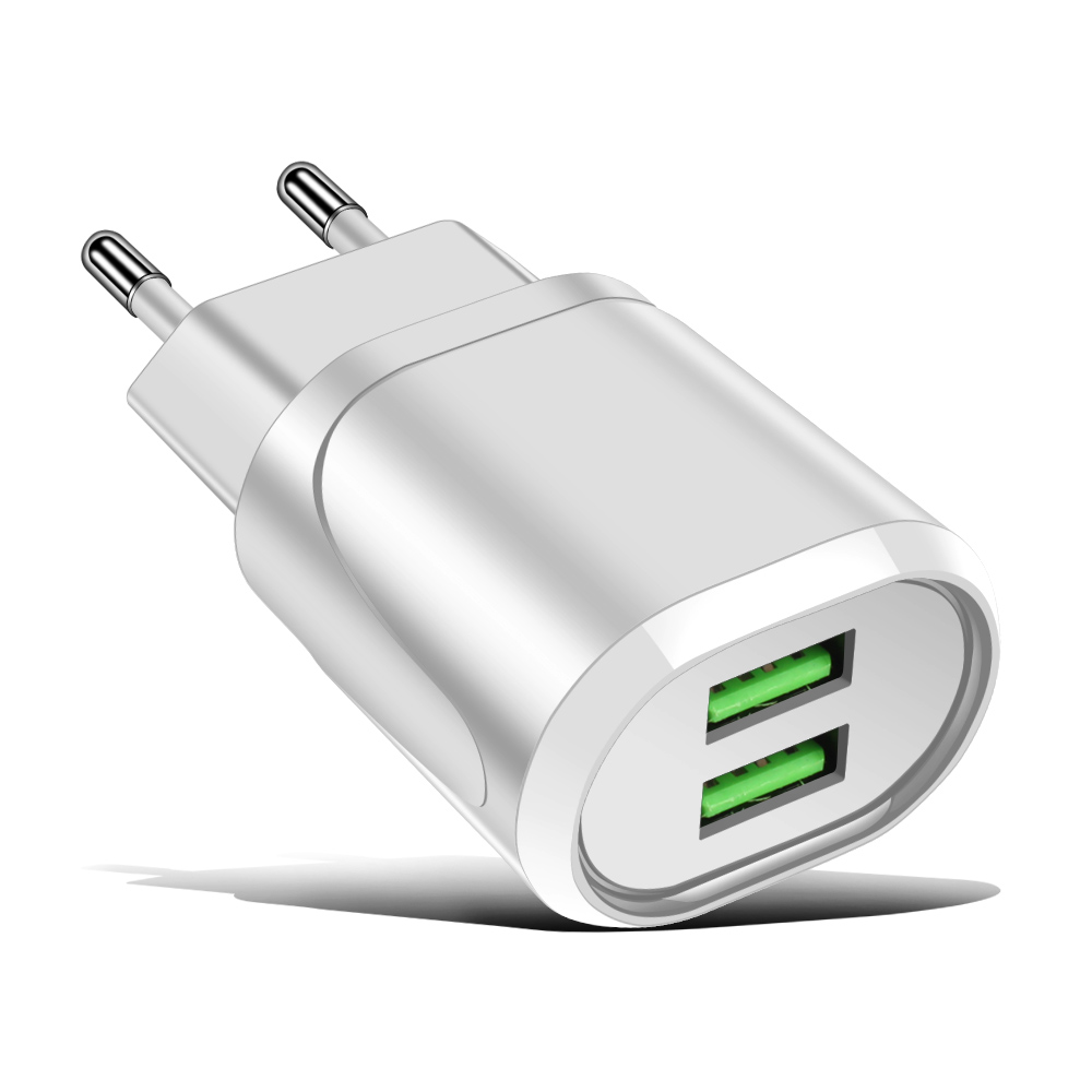 <strong>Phone</strong> Accessory Dual Port USB Wall Charger 2 Port Wall Charger 2.1A