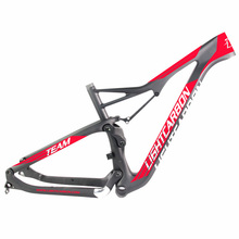 Horsecarbon best quality high modulus Toray T1000+T700 29er XC full suspension mtb bicycle BB92 strong <strong>carbon</strong> frame 29 FS902