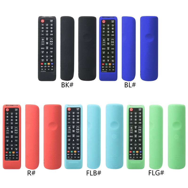 Remote Control Case Controller Silicone Cover Shockproof Protector Washable Skin for Samsung AA59-00816A LED LCD 3D HD TV
