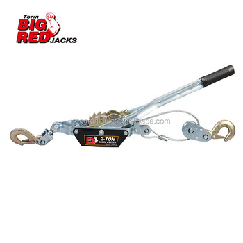 Cable Puller with Single Gear&Double Hooks   Use in Farming,Gardening,machine shop TRK8021CR