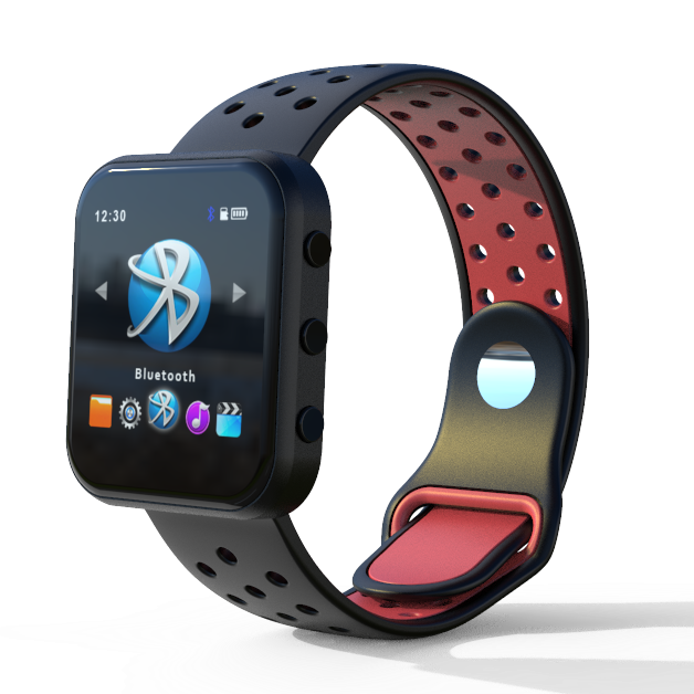 2.5D Glass TPU Sports Watch Bluetooth Download <strong>MP3</strong> Player