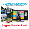 2019 Smarter IPTV 1 Year Subscriptiont World Channels Reseller Panel Free Test Code Watching M3U with for Smart TV Enigma2