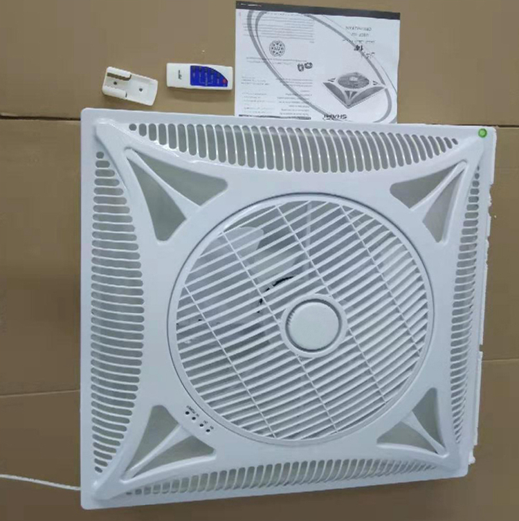 Wholesale Cheap Price Quickly Delivery Modern Simple Flush Mounted Remote Control Air Cooling Ceiling Fans